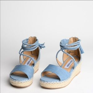 Steve Madden Works Wedge Espadrilles Kids